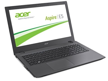 Acer Aspire E 15 (E5-573G-58VV) 39,6 cm (15,6 Zoll Full HD) Notebook (Intel Core i5-4210U, 8GB RAM, 1000GB HDD, Nvidia GeForce 940M, DVD, Win 10 Home) schwarz -