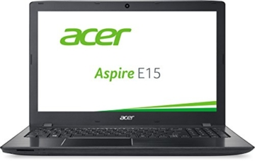 Acer Aspire E 15 (E5-575G-54TU) 39,6cm (15,6 Zoll Full HD) Notebook (Intel Core i5-6200U, 8GB RAM, 1000GB HDD, 96GB SSD, Nvidia GeForce 940MX, DVD, Win 10 Home) schwarz -