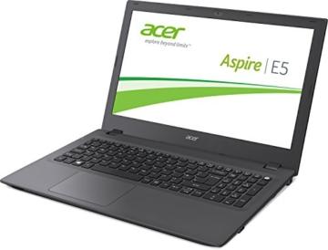 Acer Aspire E5-573G-7239 39,6 cm (15,6 Zoll Full-HD) Notebook (Intel Core i7-5500U, 3,0GHz, 8GB RAM, 1TB SSHD, DVD, NVIDIA GeForce 940M, Win 10) schwarz -