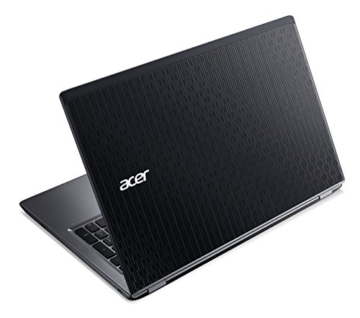Acer Aspire V 15 (V5-591G-75GP) 39,62 cm (15,6 Zoll Full HD) Notebook (Intel Core i7-6700HQ (Skylake), 8GB DDR4-RAM, 256GB SSD, Win 10 Home) schwarz -