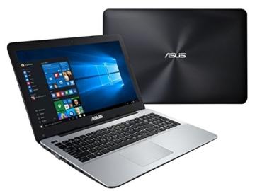 Asus F555UB-XO111T 39,6 cm (15,6 Zoll HD) Notebook (Intel Core i5 6200U, 8GB RAM, 256GB SSD, NVIDIA GeForce 940M, DVD, Win 10 Home) schwarz -