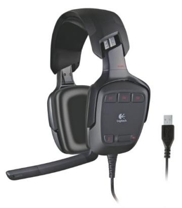 Logitech G35 PC-Gaming Kopfhörer schnurgebunden für PC und PS4 -