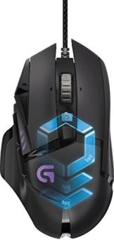 Logitech G502 Proteus Spectrum RGB Tunable Gaming Mouse (mit 11programmierbaren Tasten) schwarz -